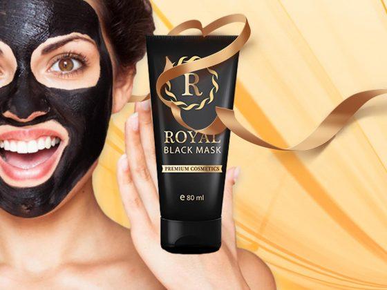 Royal Black Mask