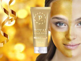 Royal Gold Mask